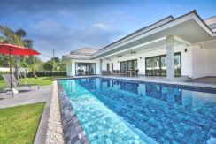 5x12 meter swimming pool with infinity overflow option