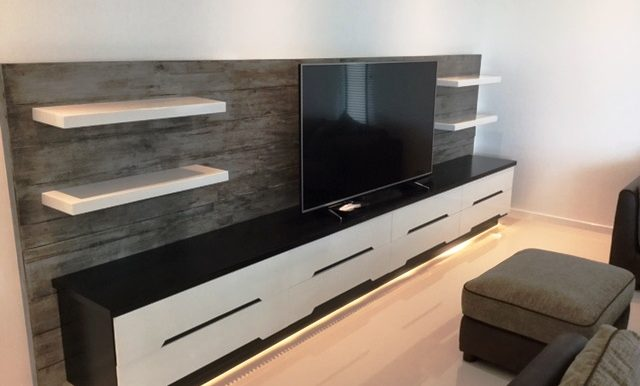Great TV/Audio Wall
