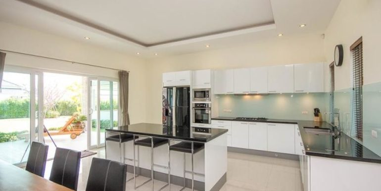 26 Fully fitted European style kitchen