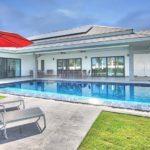 New luxury pool villas