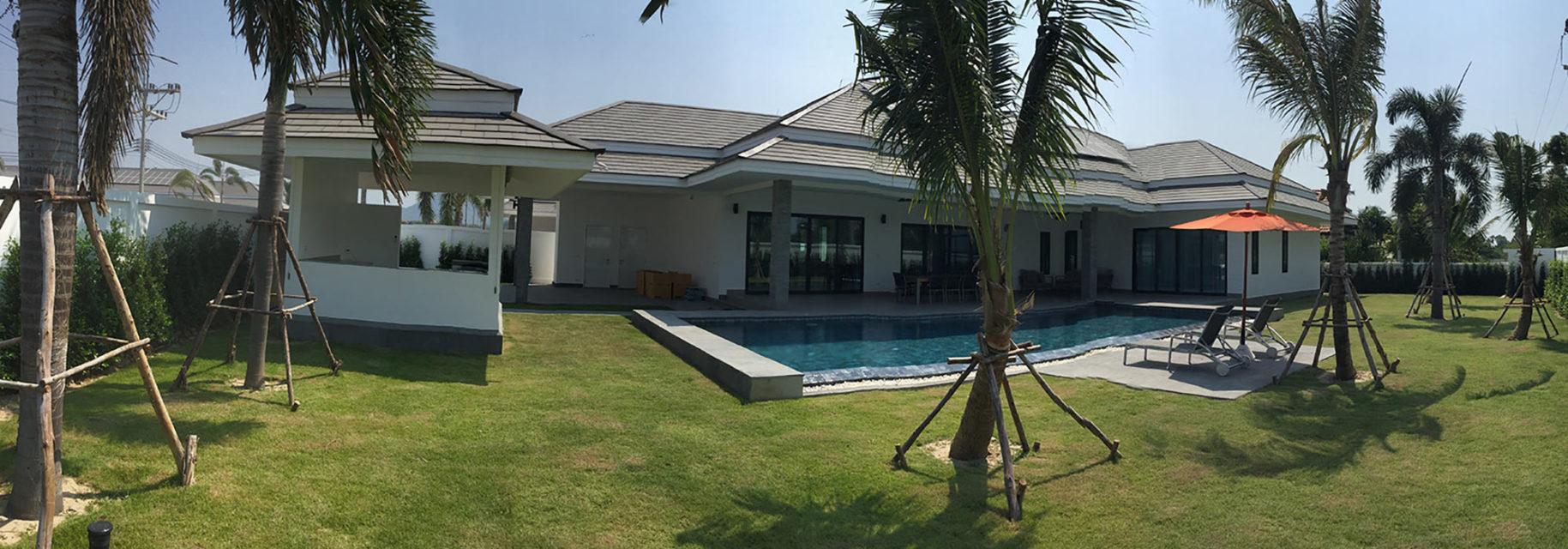 Brand new luxury Pool Villas in Hua Hin / Cha-Am