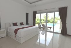 32 Bedroom access to garden and pool area