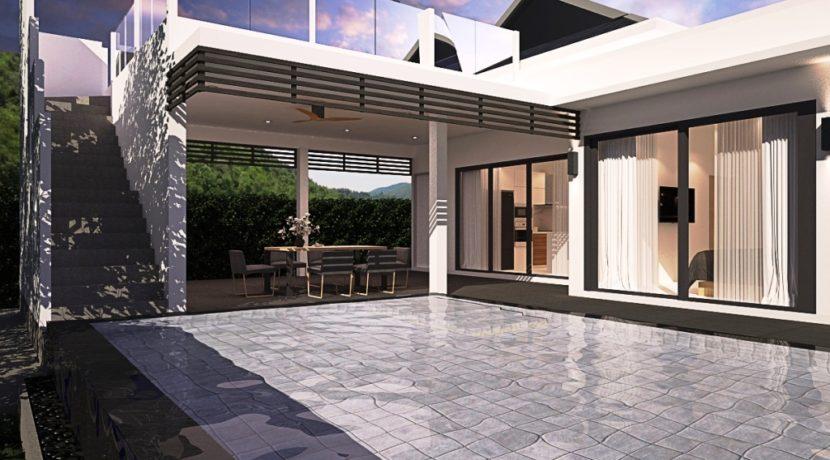 Type-A Villa Terrace