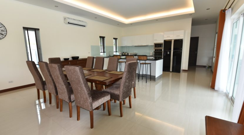 12 Dining area next to kitchen