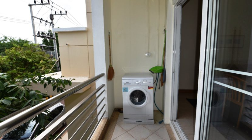 50 Washing mashine at kitchen balcony