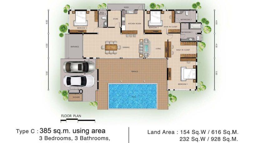 Floor Plan C 1