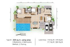 Floor plan B 1