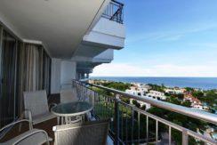 13 Large balcony traversing apartment