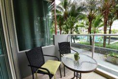 13 Large furnished balcony