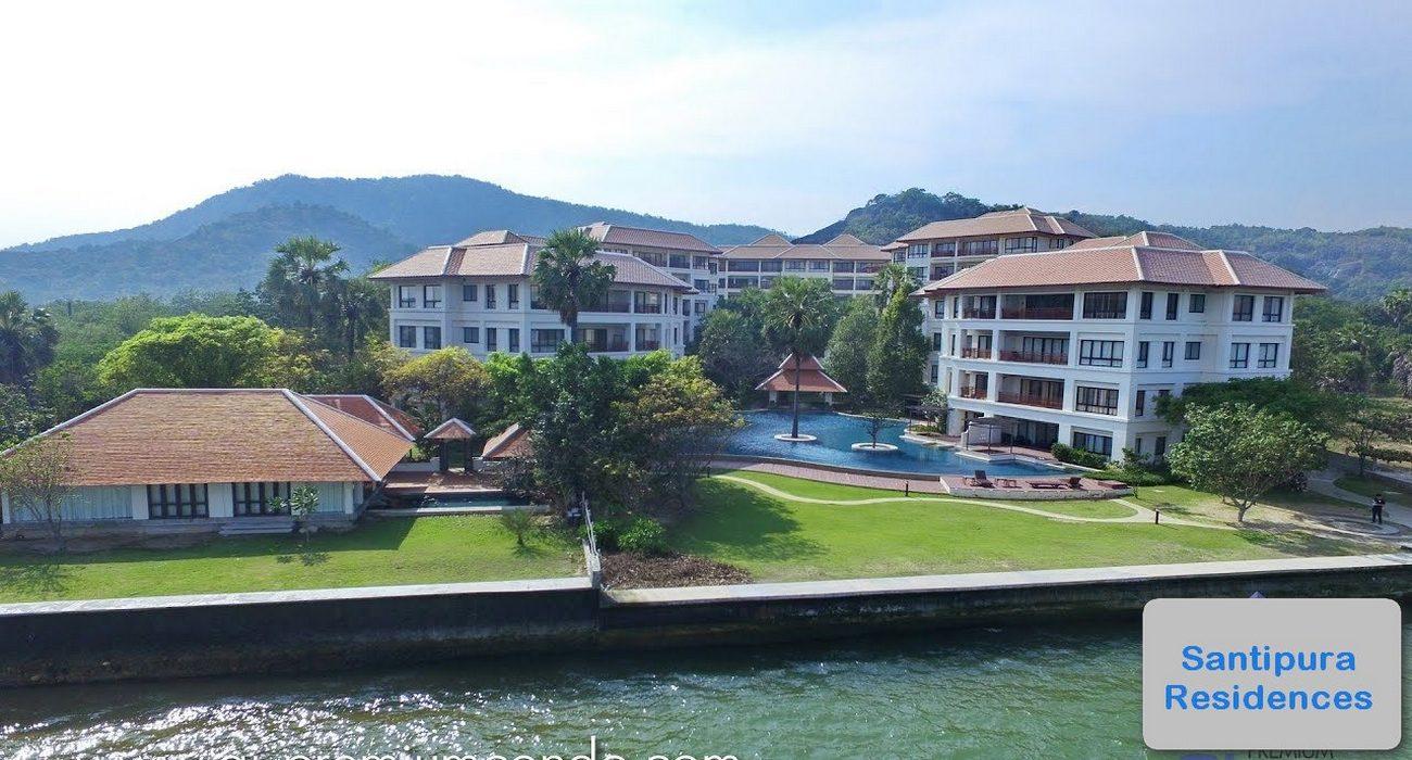 Exceptional Beachfront Apartment in Hua Hin/Khao Tao at Santipura