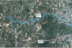 02 Birdeye view Path from Hua Hin Center to Plot