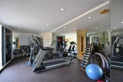 92 Fitness room with sauna