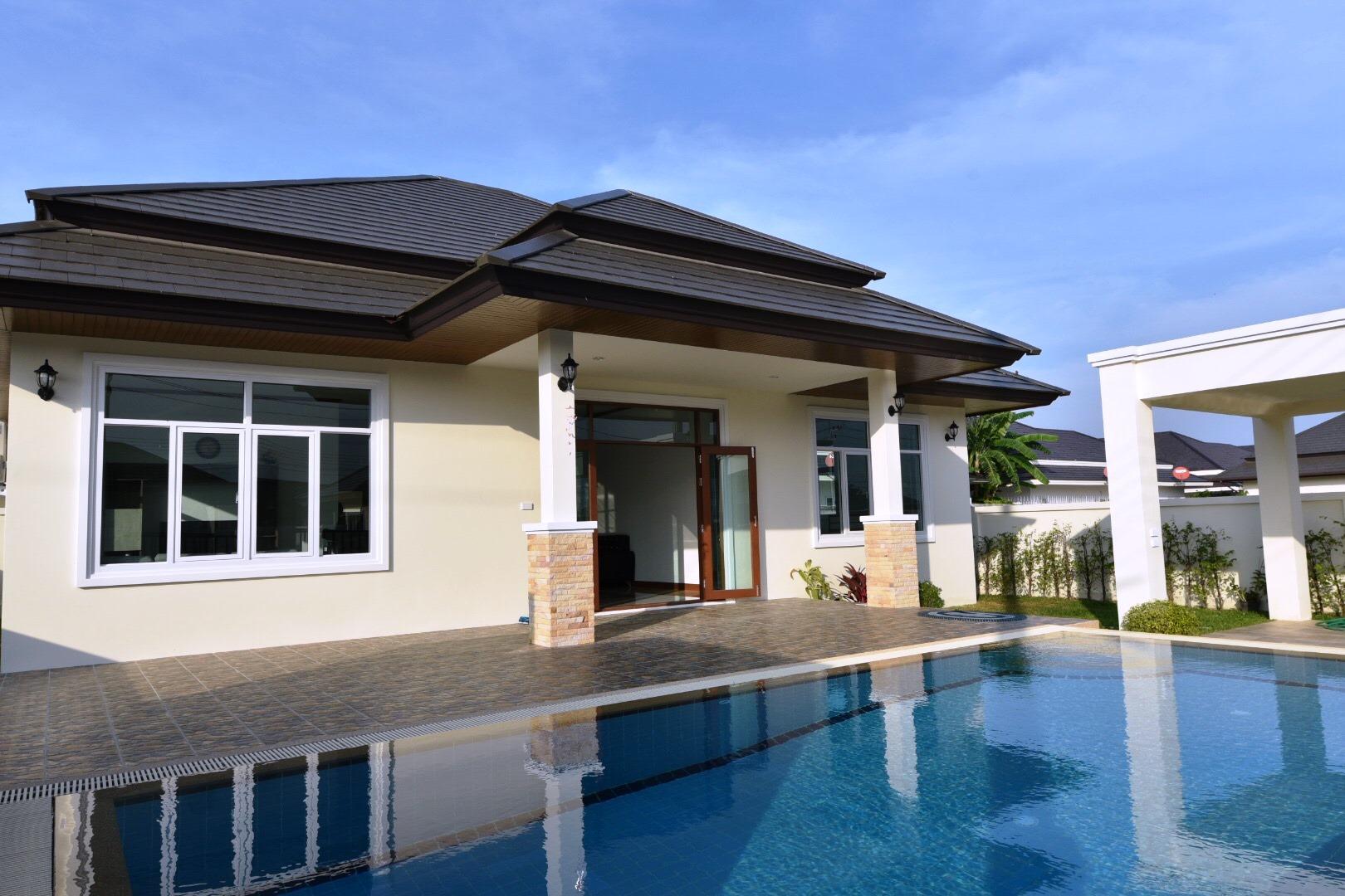 New Pool Villa in Hua Hin near Palm Hills Golf Resort
