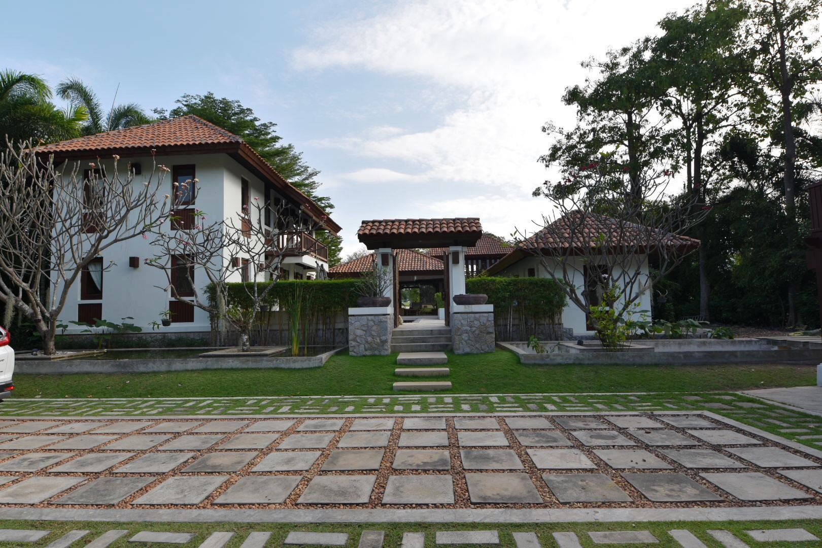 Balinese-style Pool Villa in Hua Hin at Palm Hills Golf Resort