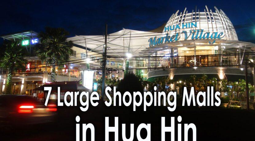 06 Hua Hin shopping malls