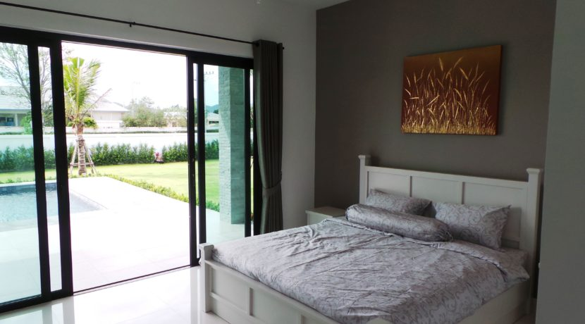 41 Bedroom exit to pool area