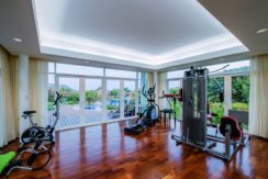 81 Well-equipped gym
