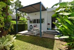 50 Furnished backyard