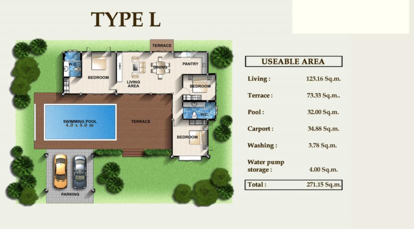 50B Villa Layout L
