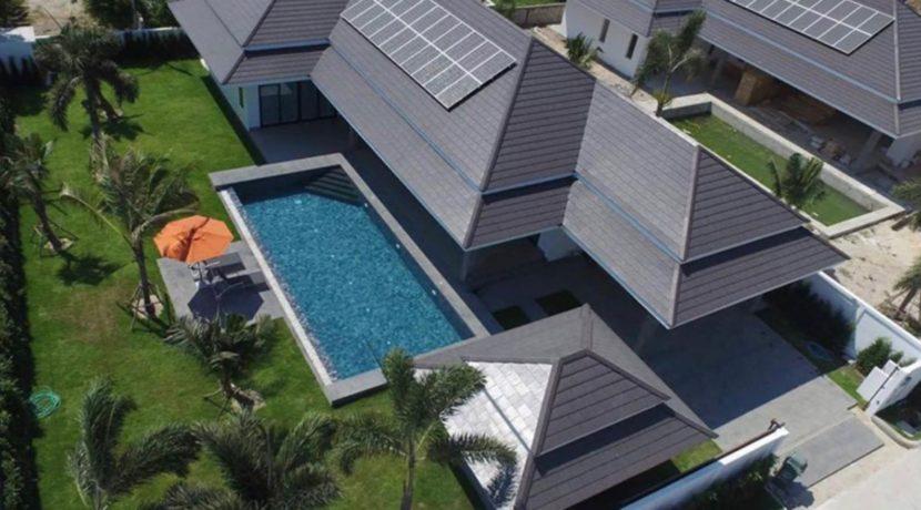 CLOUDS Villa Birdeye View