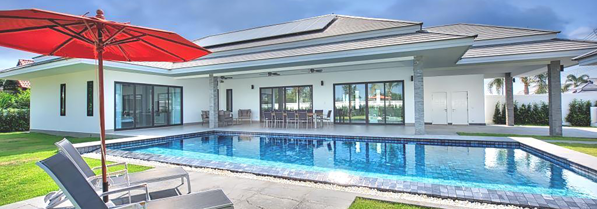 New Luxury Pool Villa in Hua Hin near Palm Hills Golf Resort