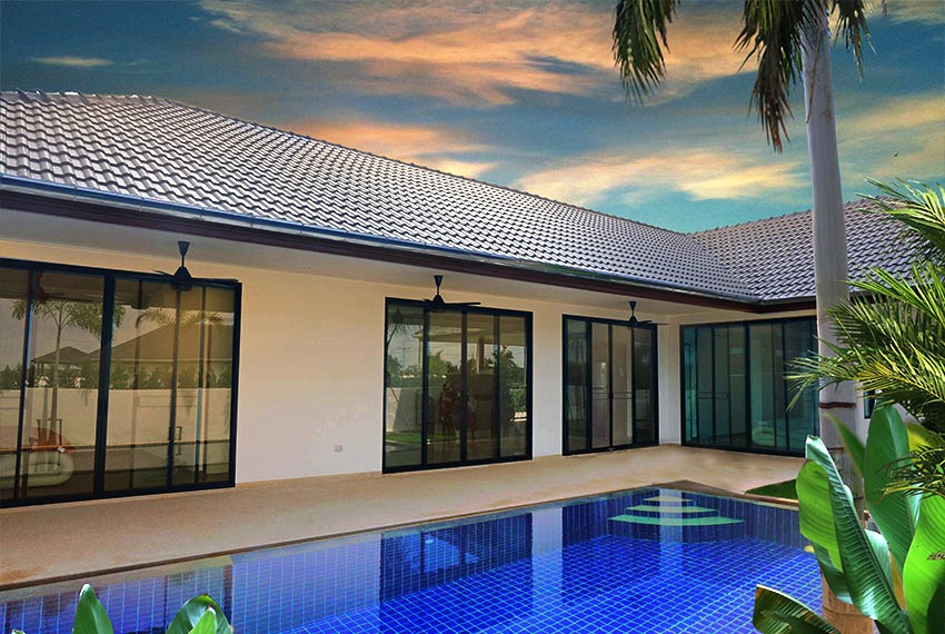 Brand new Pool Villas in Hua Hin near City Center