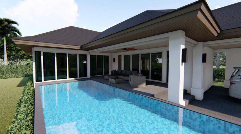 04 Large 4x9 meter salt water pool