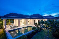 12 Type A Villa with evening illumination