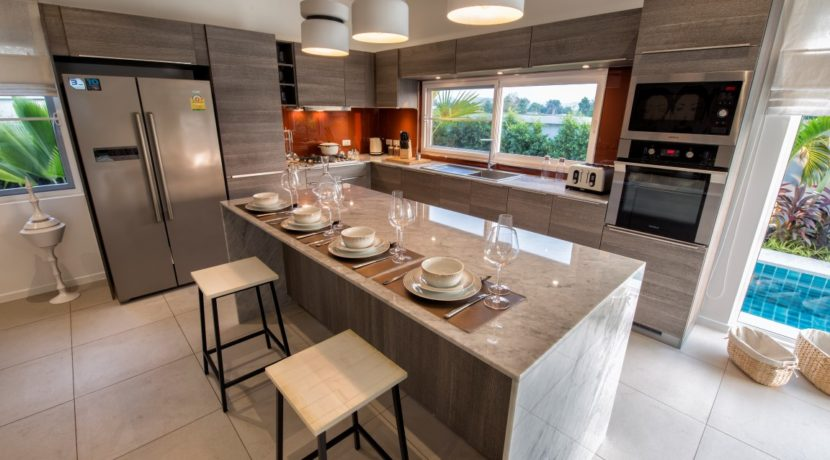 04 Leelawadee fully fitted EU style kitchen by Kvik