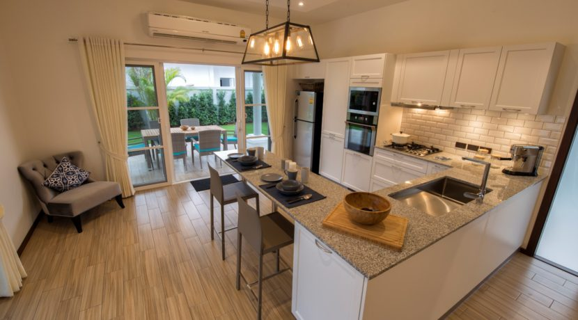 04 Orchid fully fitted EU style kitchen by Kvik