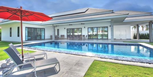 New Development Summary – Luxury Pool Villas in Hua Hin