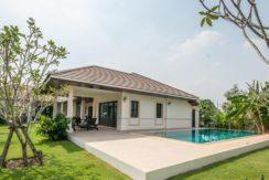 Bali-style pool villa