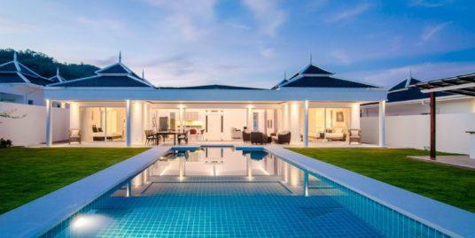 Luxury Pool Villa in Hua Hin with stunning Mountain View