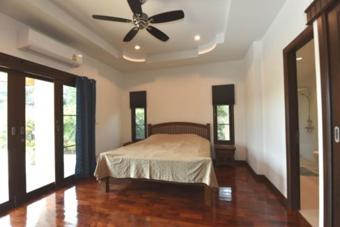 30 Spacious master bedroom with pool exit