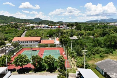 90 Mountain view from condo entrance