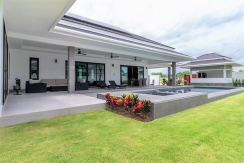 01B Brand new luxury pool villa