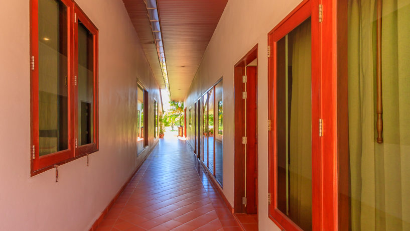 60 Walkway to kitchen and guest houses