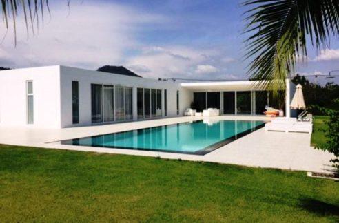 Modern golf villa