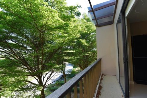 13 Condo wide balcony with golf course view