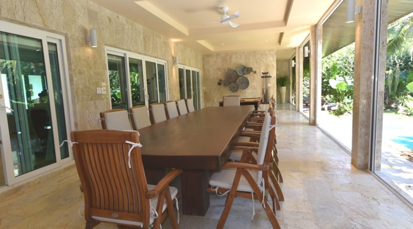 70 Large covered patio for outdoor living