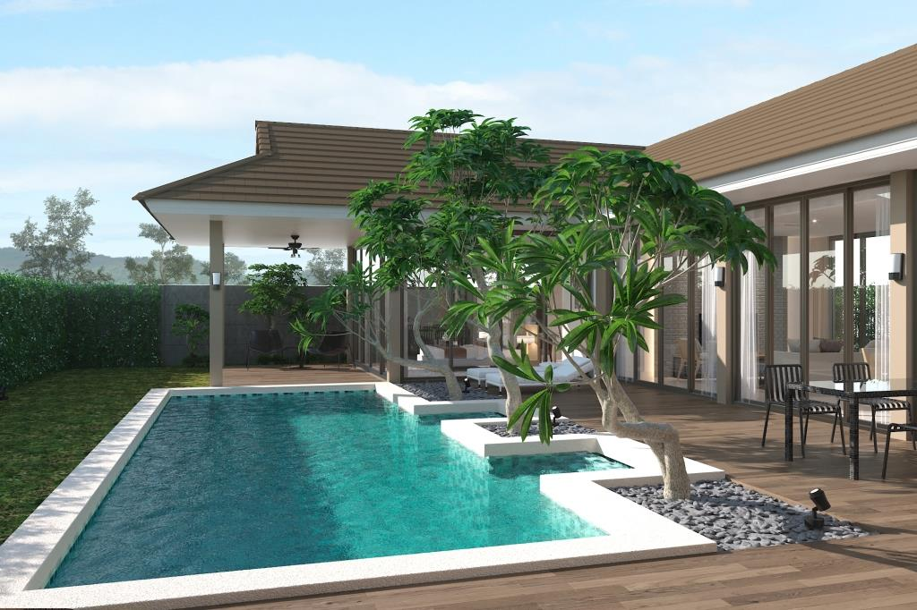 New Luxury Villas in Hua Hin at Pieceful Country Side