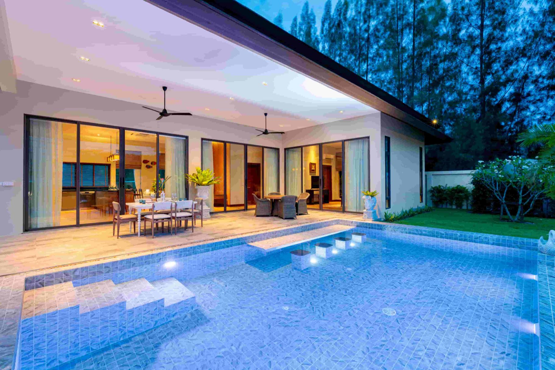 New Luxury Villas in Hua Hin at Palm Hills Golf Resort