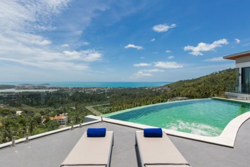 01 Chaweng Hill Villa with sea view