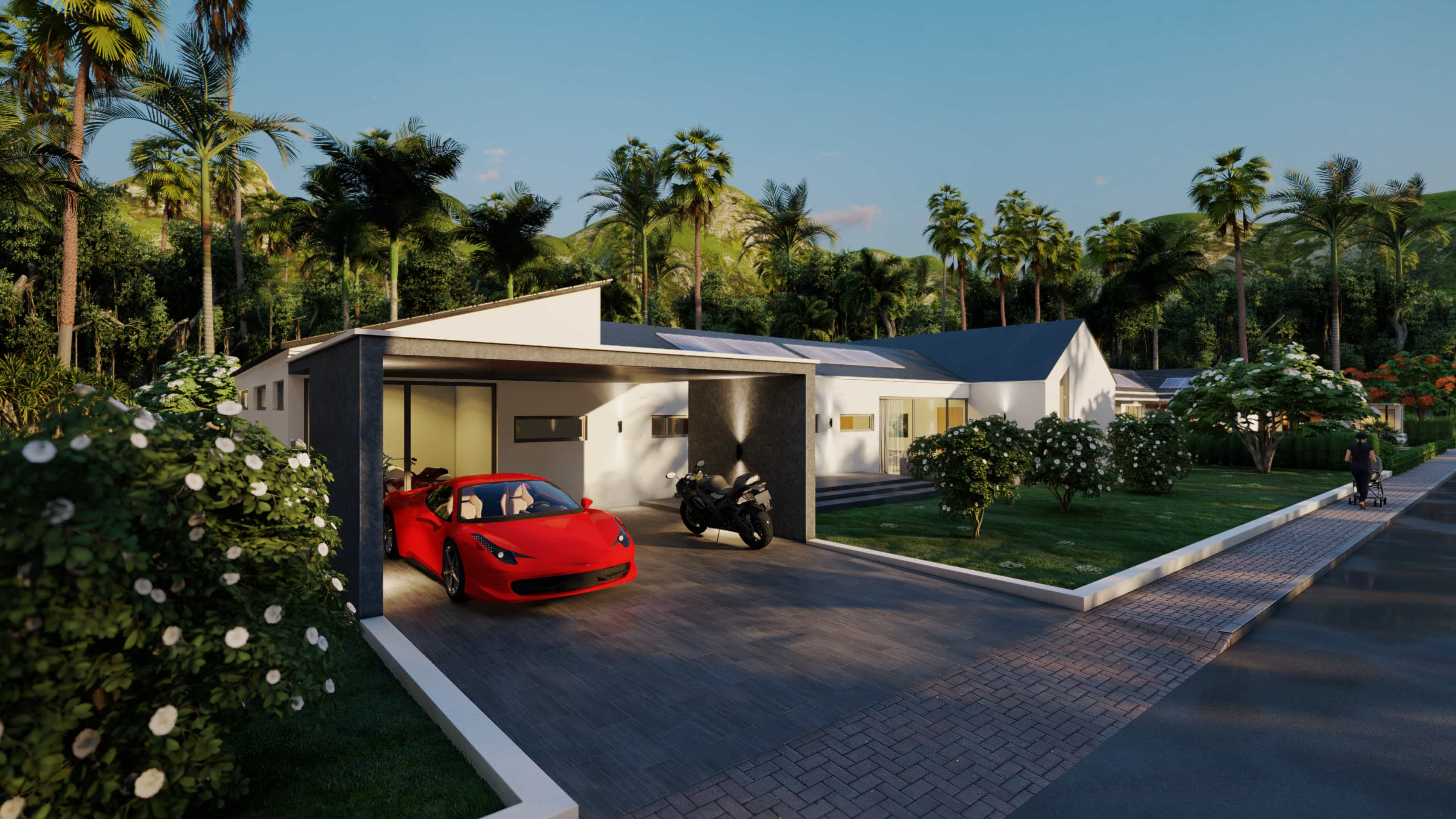 Brand new Pool Villas in Hua Hin at Luxury Home Residence