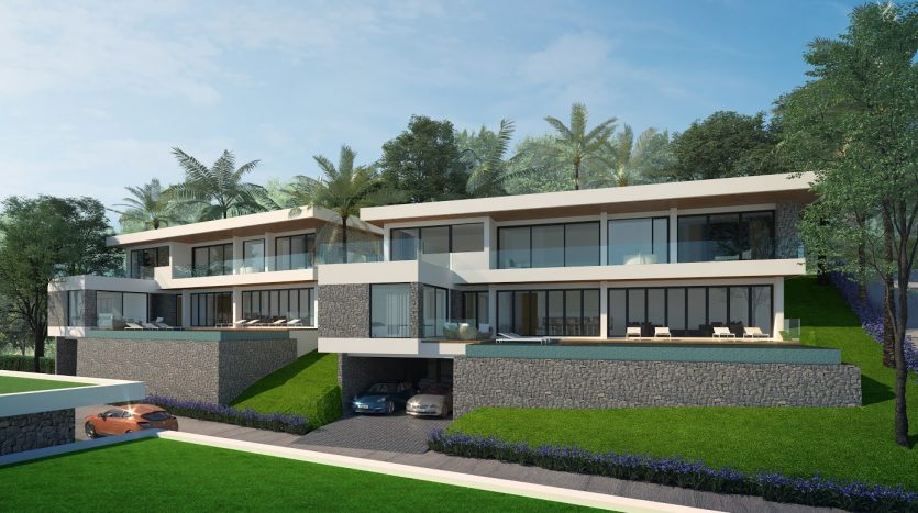 New Samui Project with Seaview Villas at Plai Laem