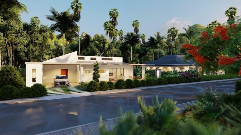01 Villa TEAK Facade