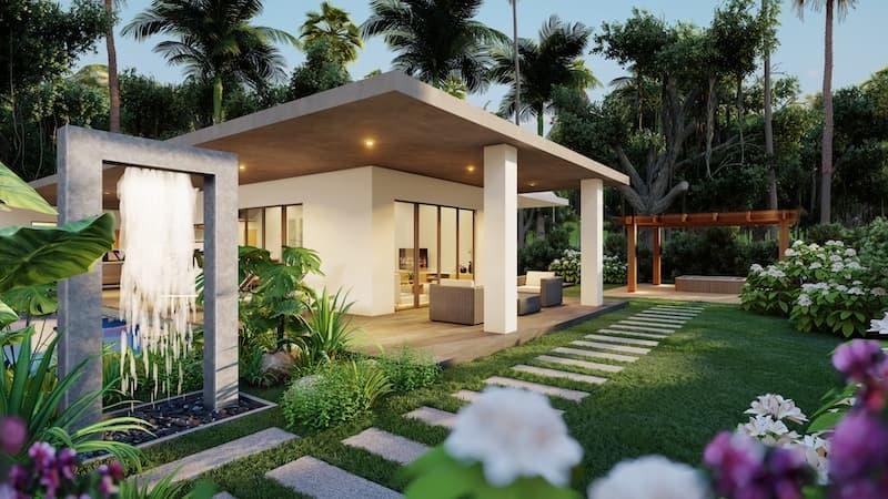 03 Villa TEAK Entrance