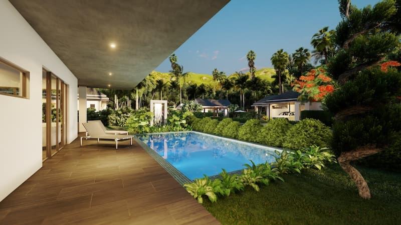 05 Villa TEAK Pool