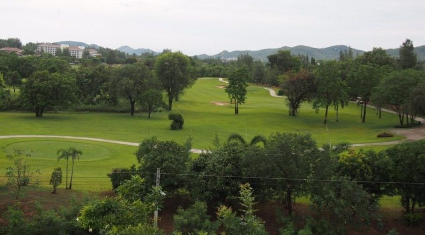 06 Garden terrace view to Sea Pines Golf