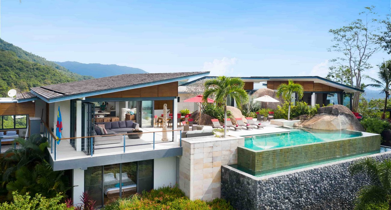 Exceptional Panoramic Seaview Villa in Koh Samui Hills